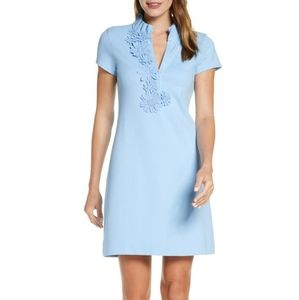 NWT Lilly Pulitzer Pique Clary Polo Dress Blue XS